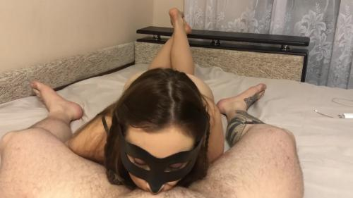 Tenn In Mask Make Blowjob - Blowjob With Oralcreampie [FullHD 1080P]