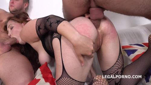 Sarah Dele gets 2on1 DP with Balls Deep Anal, Squirting, Cum in mouth GL048 [HD 720P]