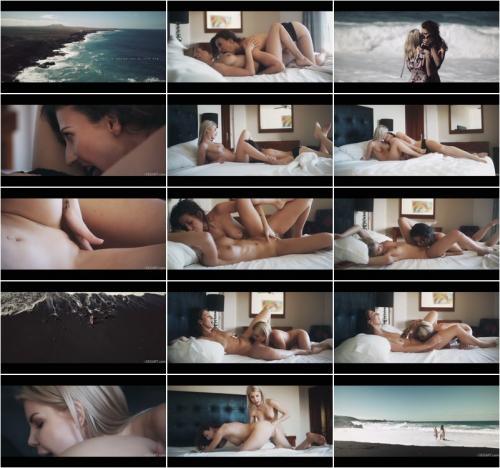 Emylia Argan And Olivia Sin Beach [FullHD 1080P]