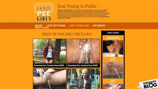 CrazyPeeGirls.com - SITERIP