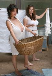 Milena Velba White linen              60 pics,