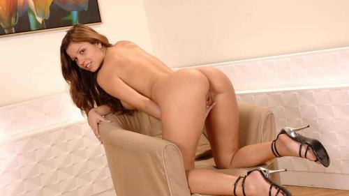 Peaches is a brunette babe who is a