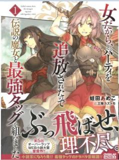 [Novel] Onna Dakara to Pati o Tsuiho Sareta Node Densetsu no Majo to Saikyo Taggu o Kumimashita (女だから、とパーティを追放されたので伝説の魔女と最強タッグを組みました) 01