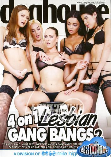 4 On 1 Lesbian Gang Bangs 2