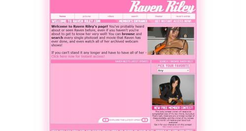 RavenRiley.com – SITERIP