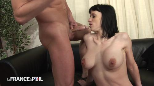 Ophelie Sexy - French brunette shows off huge tits for casting call [HD 720P]