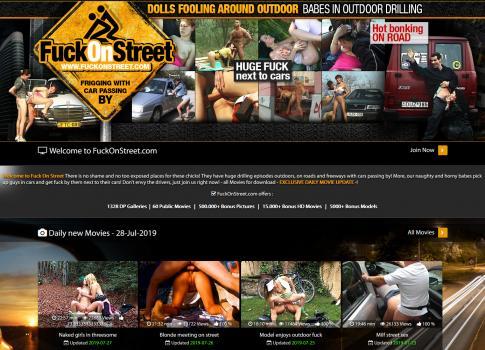 FuckOnStreet (SiteRip)