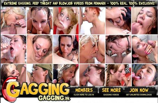 Gagging (SiteRip) Image Cover