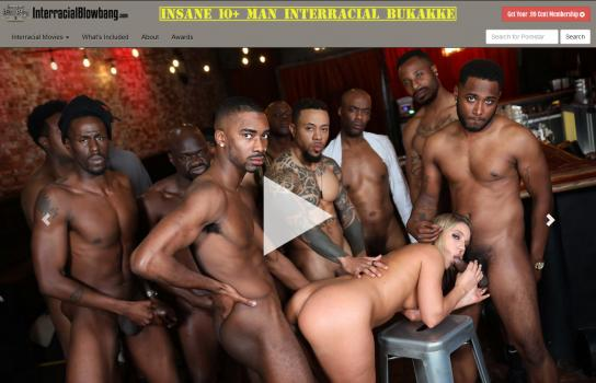 InterracialBlowbang (SiteRip) Image Cover