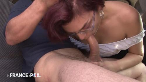 Gwenola - Naughty redhead slut gets hard anal pounded and fist fucked behind a truck [HD 720P]