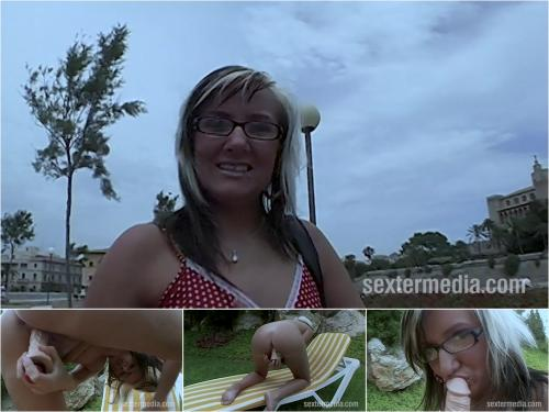 Candy - Blonde sex tourist in Mallorca [HD 720P]