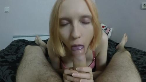 Hot Young Step Sister Sucks Sloppy Deepthroat POV 60FPS [FullHD 1080P]