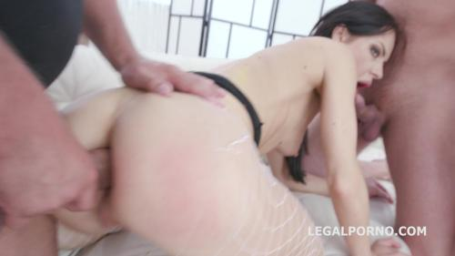 DAP destination Allatra Hot gets 4on1 Balls Deep Anal and DP, DAP, Gapes, Swallow GIO965 [HD 720P]