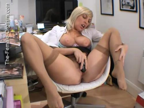 Sandie Caine In The Office